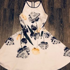 Ted Baker Symone paper petals skater dress